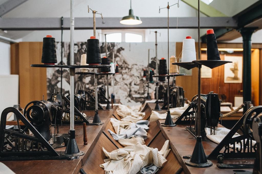 Musée de la chemiserie Argenton sur Creuse ©Sarah Arnould