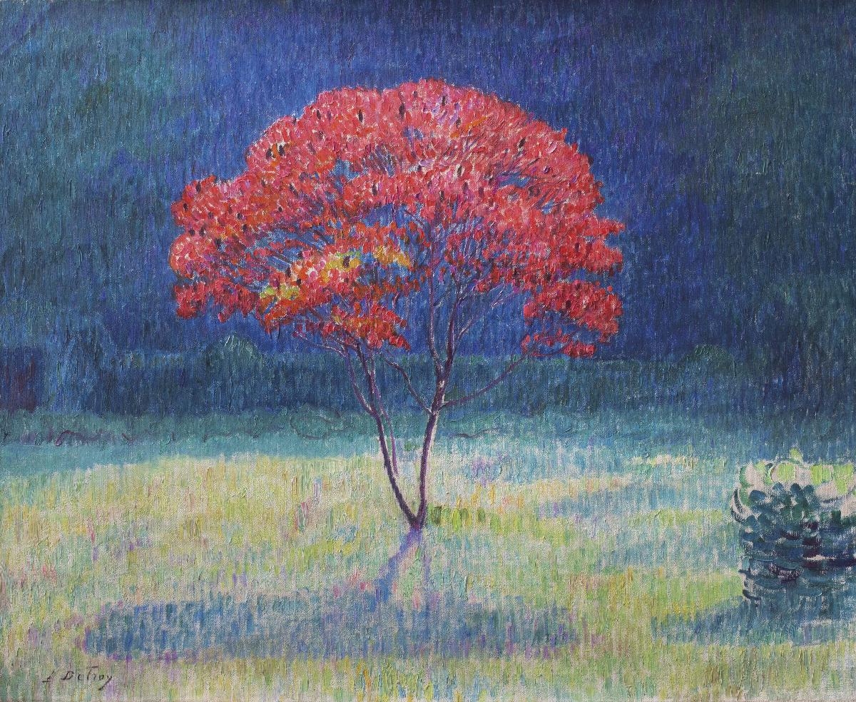 L'arbre rouge de Leon Detroy