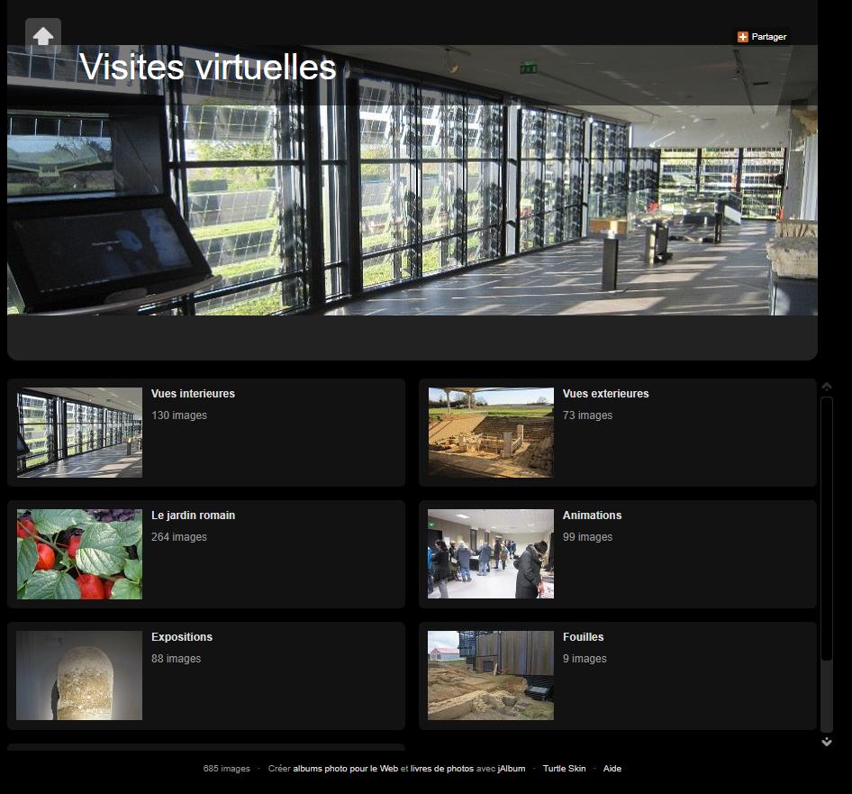 Visites virtuelles argentomagus
