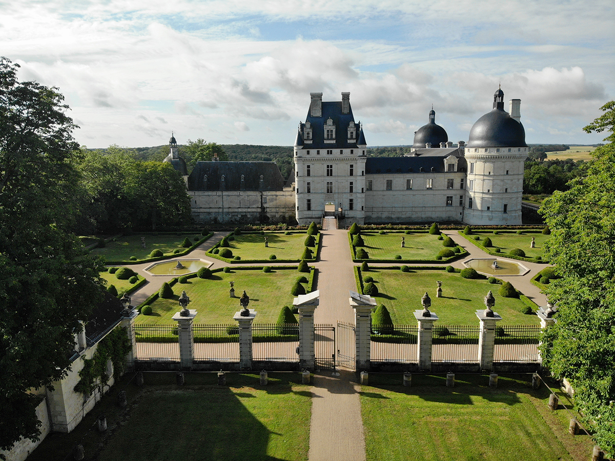 Château de Valençay © Photo drone A²I