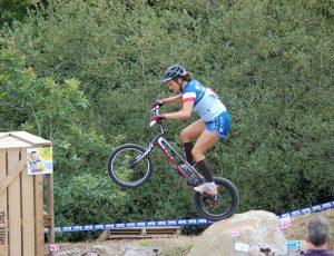 Manon Bassevile, championne de France de VTT Trial - © N. Barraud