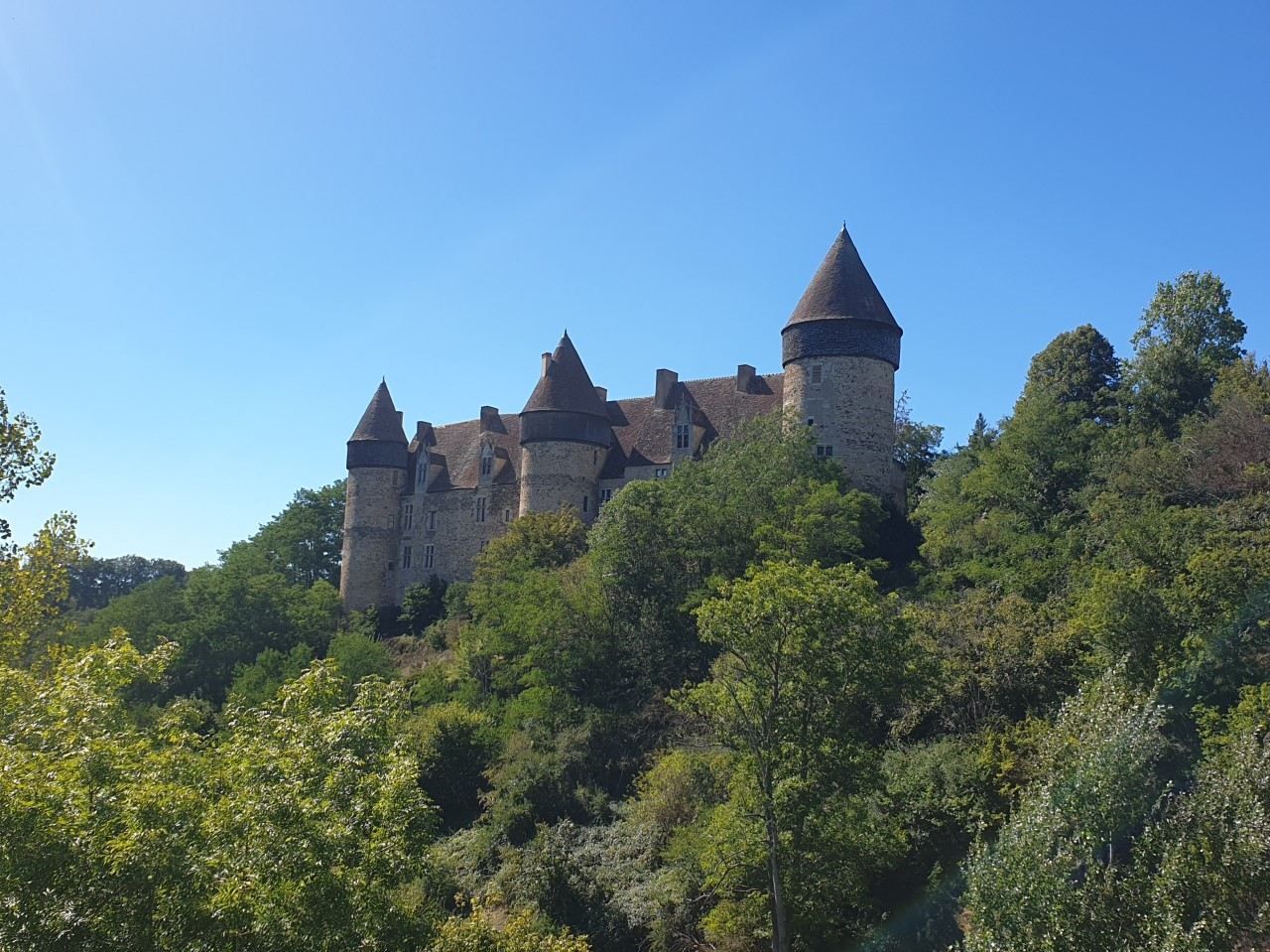 Le château de Culan
