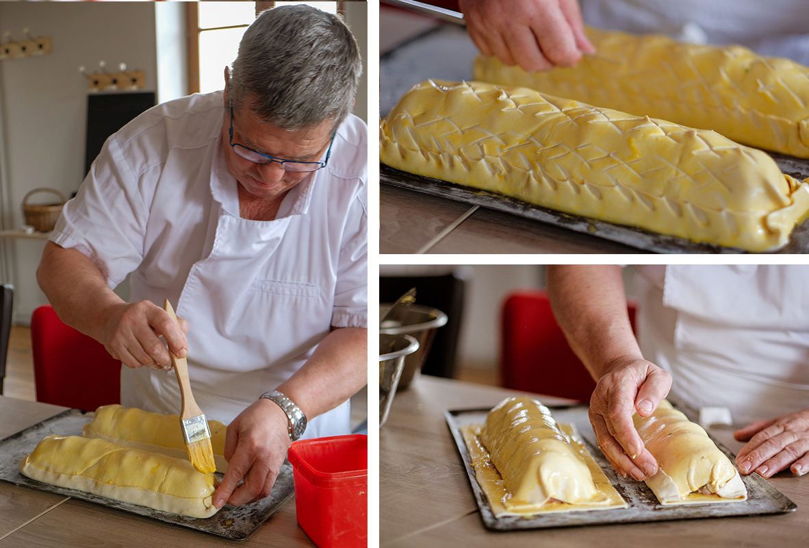 finalisation preparation pate berrichon_©Isabelle Bardiau