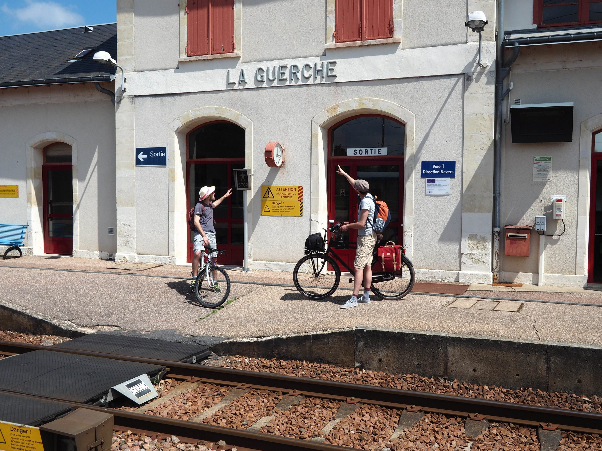 Loire à vélo par train