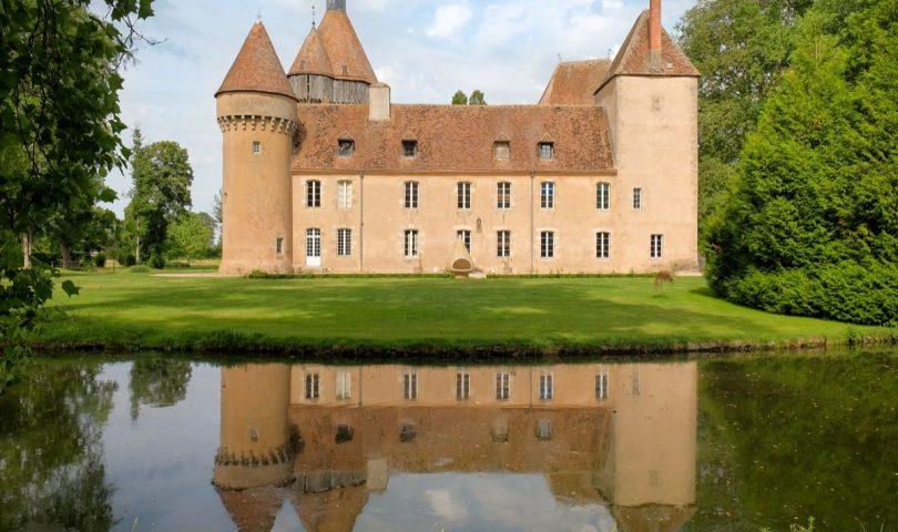Façade Chateau de la Motte Feuilly