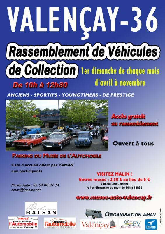 Rassemblement-vehicules-collection-2019-MUSEE-AUTO-VALENCAY