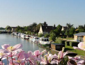 Canal Belleville Fleurs