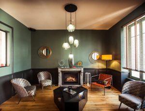 Lounge-Cheminée