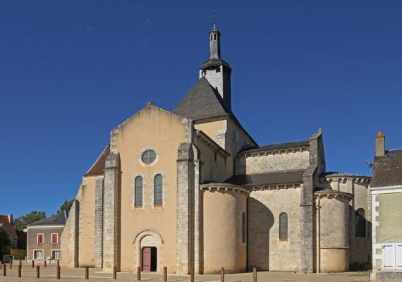 Eglise abbatiale de Méobecq