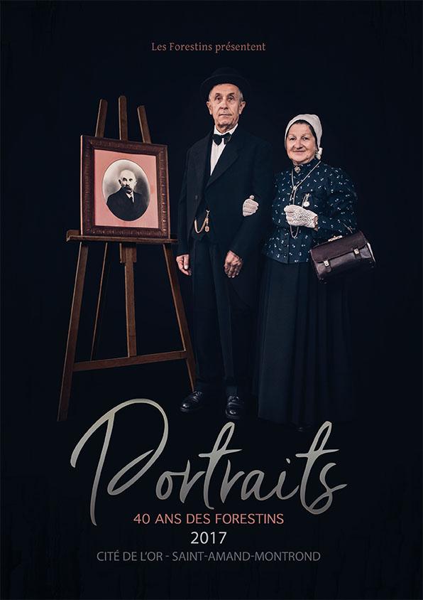 AFFICHE PORTRAITS OT