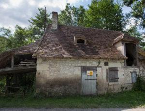 Balade entre la Claise et le Chambon – Ancien moulin en bord de Claise