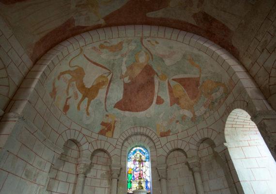 Une église romane entre Boischaut et Brenne – Peintures murales de l'église