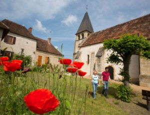 Le moulin de Saint-Civran – En passant par l'église