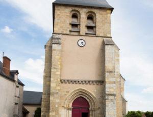 Au long de la Sonne – Au départ de l'église de Prissac