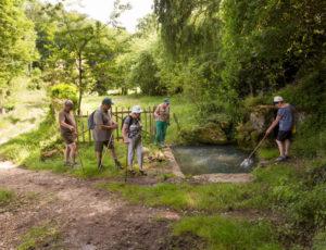 Mosaique bocagère – A la fontaine