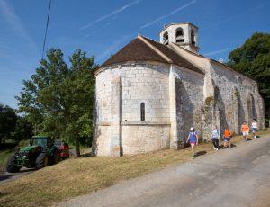 Chapelle de Plaincourault à Mérigny