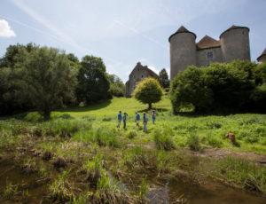 La vallée du Salleron – Vue de l'Anglin