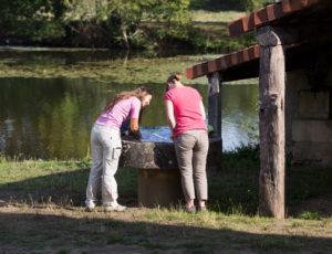 Les bords de l'Anglin – Vers l'écluse à Bélâbre