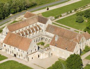 Abbaye de Noirlac vue ensemble
