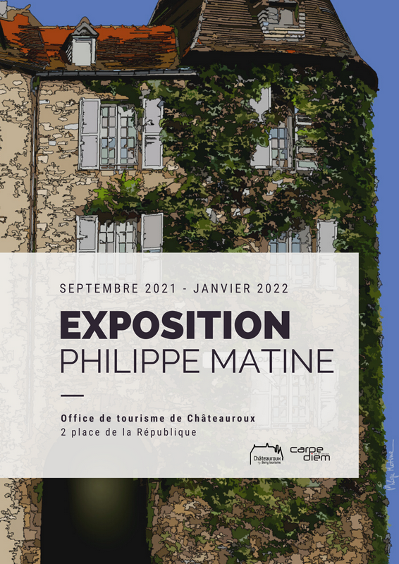 Affiche exposition Philippe Matine