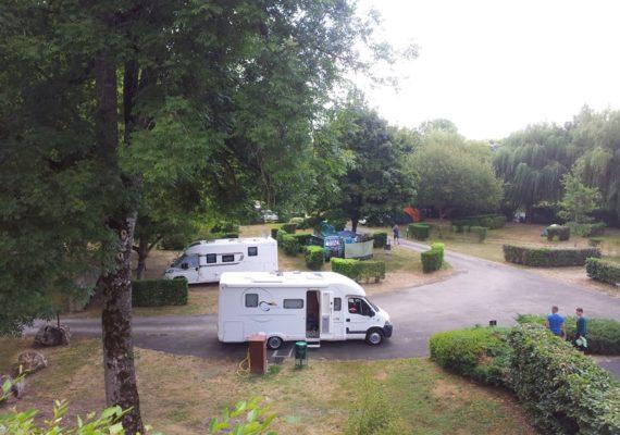 Aire de camping car – La Quintaine – Bélâbre