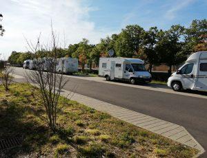 Aire de service Camping Car Canal de Berry