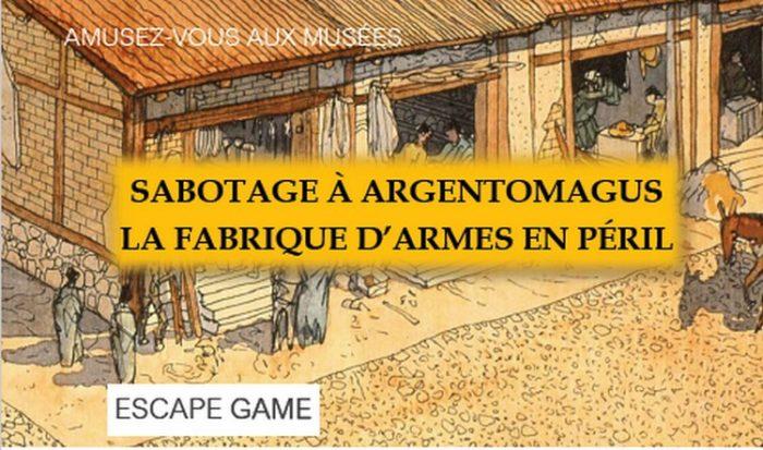 Argentomagus escape game