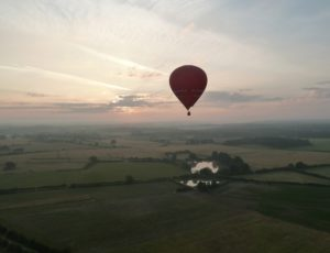 Vol de la Brenne en montgolfière