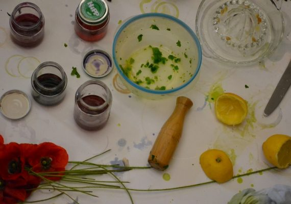 Atelier peinture vegetale