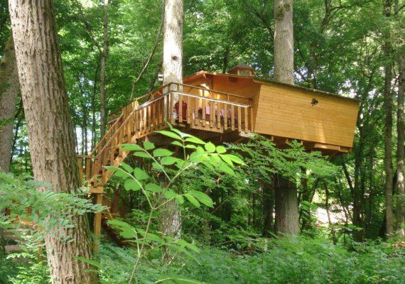 L'Augis nature – Cabanes dans les arbres