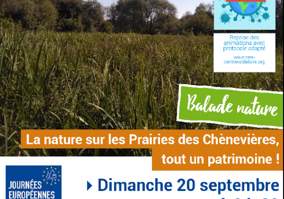 Balade nature Chénevières 2020