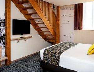 Bas Chambre Suite Duplex Jaune