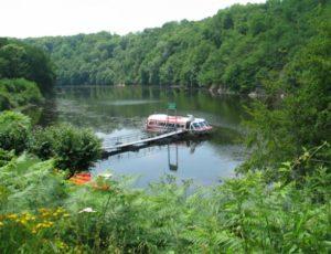 Bateau promenade embarcadère 1 lac d'Eguzon