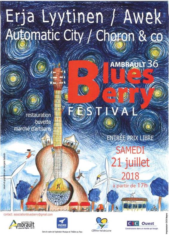 Festival Blues Berry