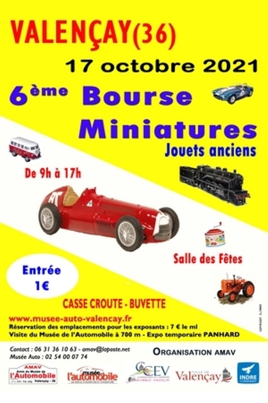 Bourse miniatures 2021