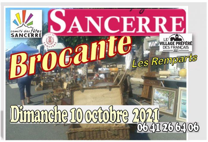 Brocante Sancerre octobre 2021