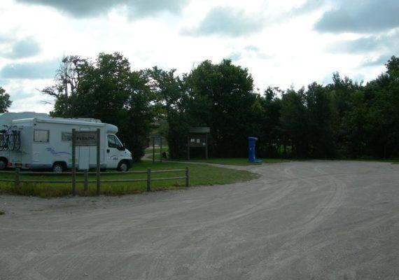 Borne de camping car Neuillay-Les-Bois