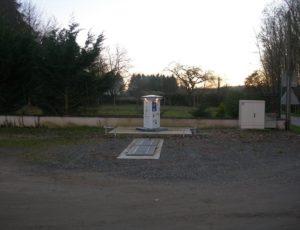 Borne de camping car de Tournon-Saint-Martin