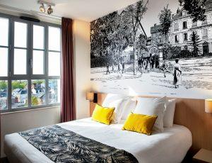Chambre Confort jaune