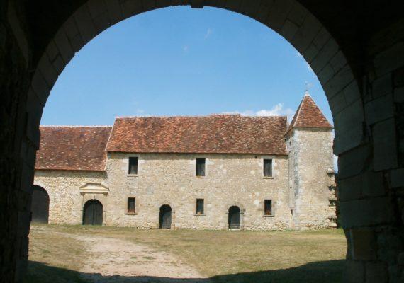 Château de la Commanderie à Luzeret
