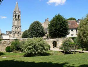 Clocher abbaye Déols