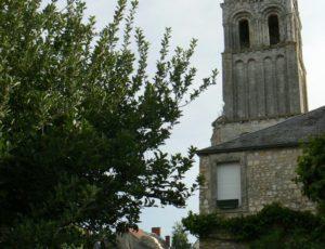 Clocher abbaye de Déols