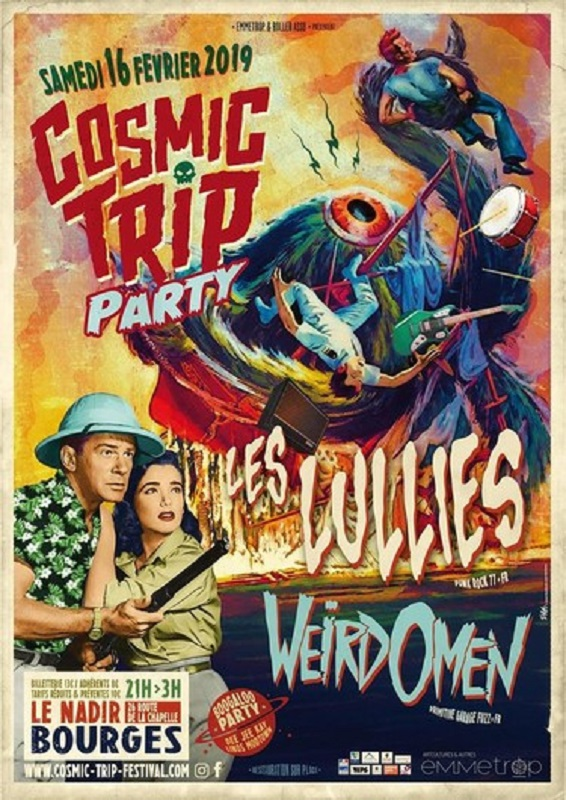 Cosmic trip party