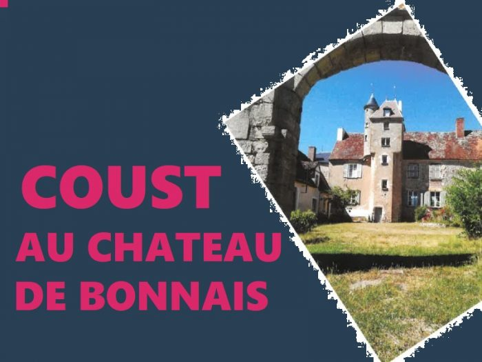 Coust au château de Bonnais 21 22 23 AOÛT 2020