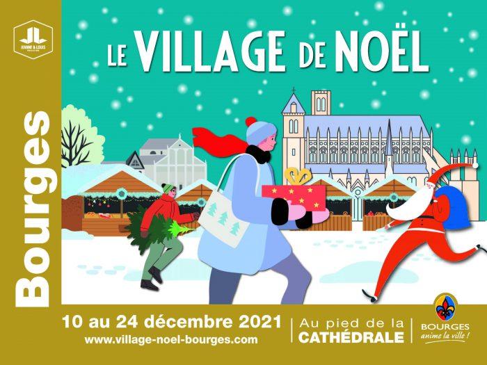Affiche Village de Noël 2021
