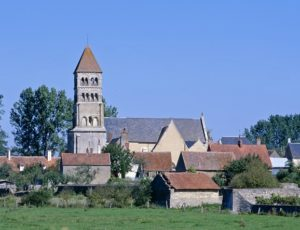 Eglise de Germigny l'Exempt 2 photo Editions Gaud