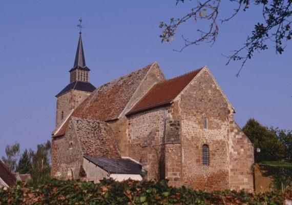 Eglise de Vesdun 5 photo Edition Gaud
