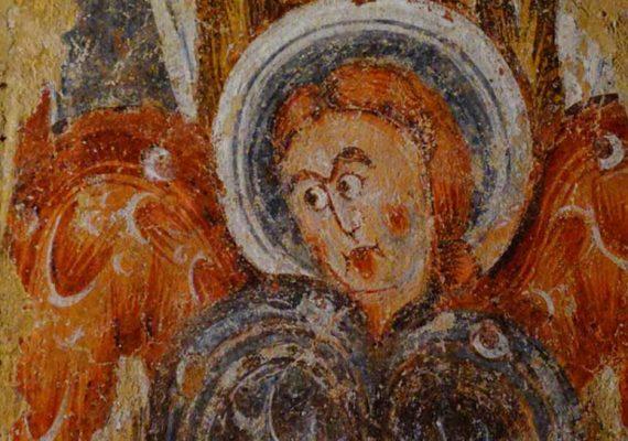 Eglise et fresques de Vic
