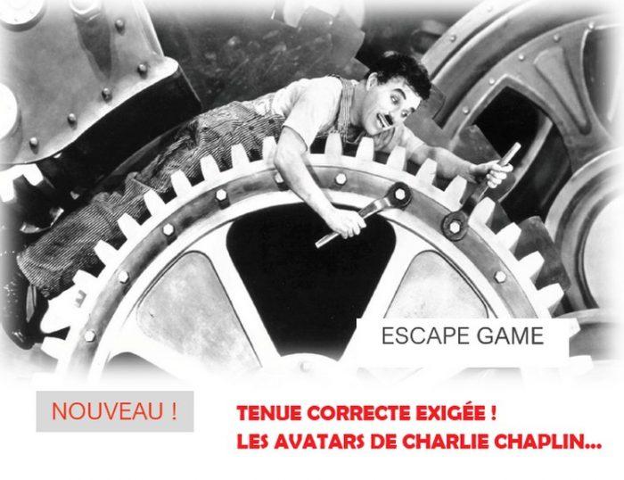 Escape game chemiserie 2021