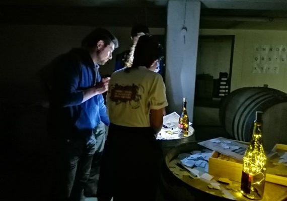Escape game au Domaine Claude Lafond